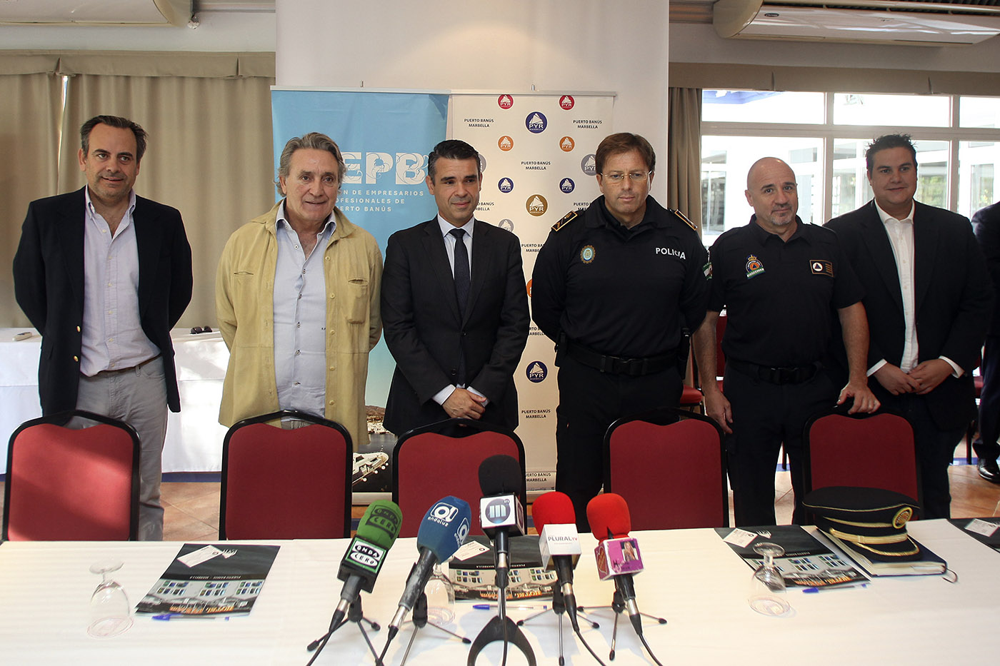 Marbella City Council and business people join forces to improve Puerto Banús