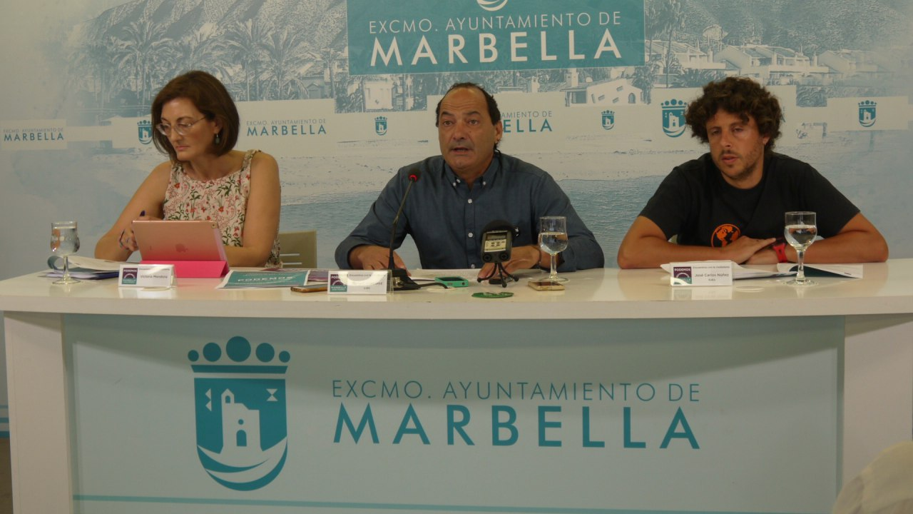 Partido Popular criticises the situation in Puerto Banús and calls for action from the tripartite coalition government